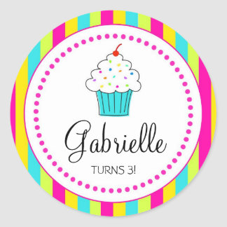 Cupcake Stickers, for DYI cupcake toppers