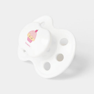 Cupcake, Strawberry Flavor Pacifier