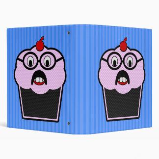 Cupcake Studmuffin 3 Ring Binder