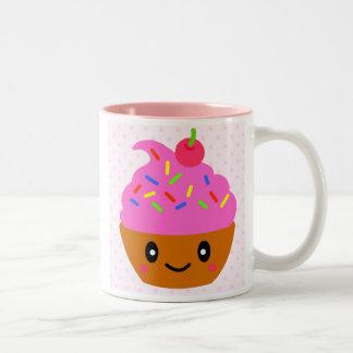 cupcake, sugar cakes cherry coffee mug