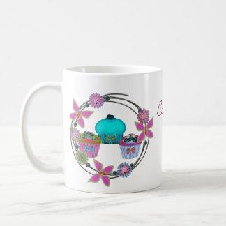 Cupcake Sunday Classic White Coffee Mug