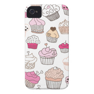 Cupcake sweet candy cake pattern Case-Mate iPhone 4 cases