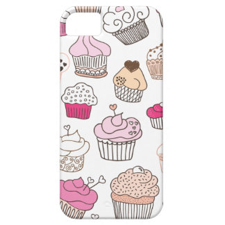 Cupcake sweet candy cake pattern iPhone 5 cases