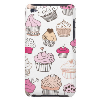 Cupcake sweet candy cake pattern iPod touch Case-Mate case