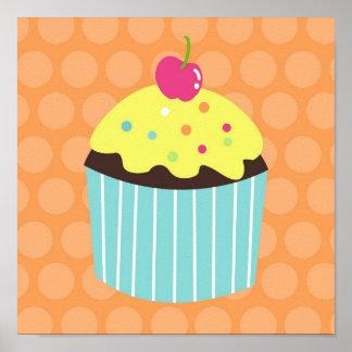Cupcake Sweet Girls Nursery Wall Art prints