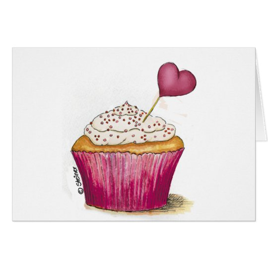 Cupcake - Sweetest Day Card