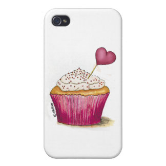 Cupcake - Sweetest Day iPhone 4/4S Cases