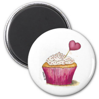 Cupcake - Sweetest Day Refrigerator Magnet