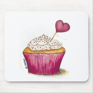 Cupcake - Sweetest Day Mouse Pad