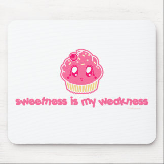 Cupcake-Sweetness is my Weakness Mouse Pad