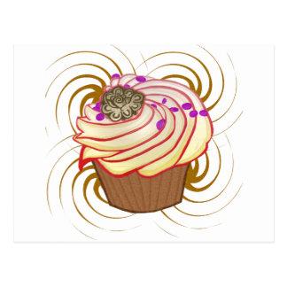 Cupcake Swirl Postcard