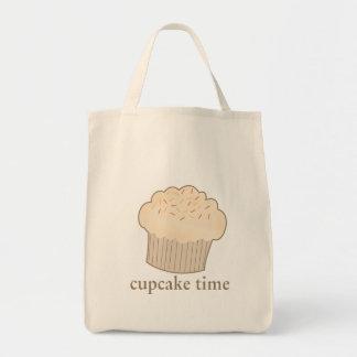 Cupcake Time Canvas Bag
