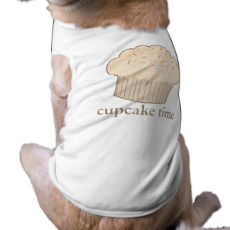 Cupcake Time Dog Tee