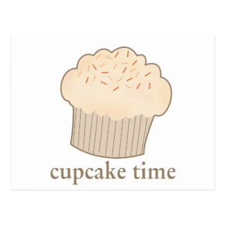 Cupcake Time Postcard