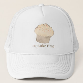 Cupcake Time Trucker Hat