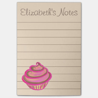 Cupcake To Do List Post It Notes