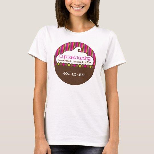 Cupcake Topping Retro Tshirt
