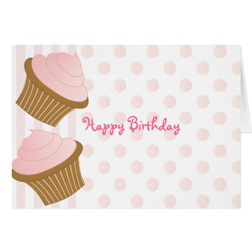 Cupcake Toss Stationery Note Card