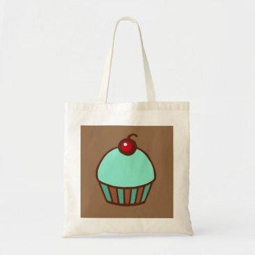 Beach Themed Cupcake Tote Bag