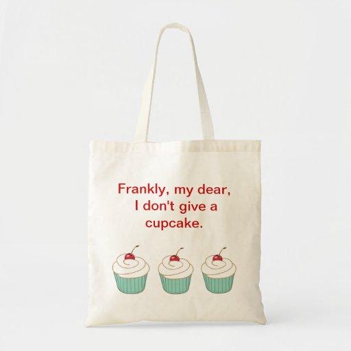 Cupcake Tote Canvas Bags