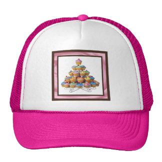 Cupcake Tree Cap Trucker Hat