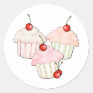 Cupcake Trio Stickers
