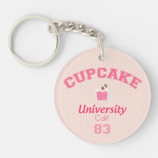 Cupcake University Keychain