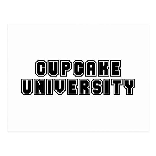 Cupcake University Postcard