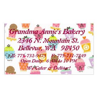 Cupcake Variety Business Card