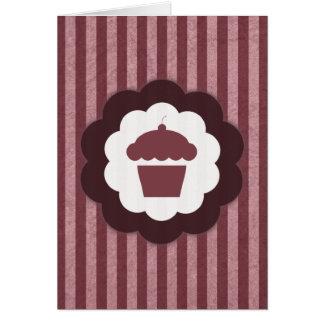 cupcake vintage card