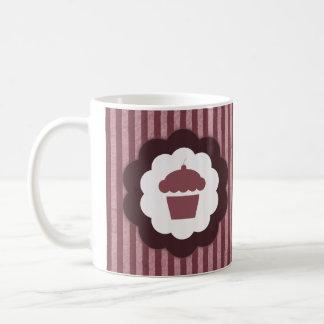 cupcake vintage classic white coffee mug