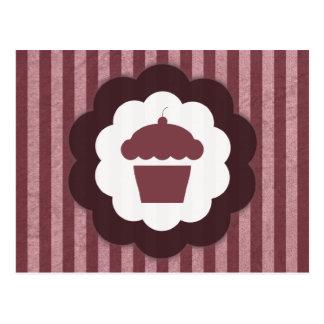 cupcake vintage postcard