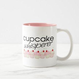 Cupcake Whisper Two-Tone Coffee Mug