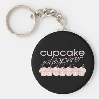Cupcake Whisperer Basic Round Button Keychain