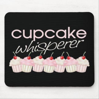 Cupcake Whisperer Mouse Pads