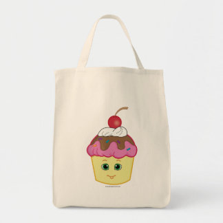Cupcake with a Cherry on Top! Tote Bag