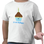 Cupcake with Candle T-shirt