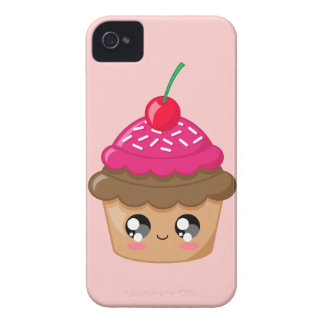 Cupcake with Cherry and Sprinkles iPhone 4 Covers
