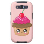 Cupcake with Cherry and Sprinkles Galaxy S3 Case