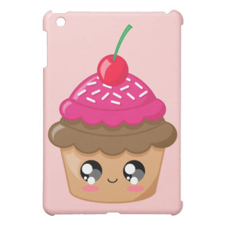 Cupcake with Cherry and Sprinkles iPad Mini Cases