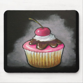 Cupcake with Cherry: Artwork: Mousepad