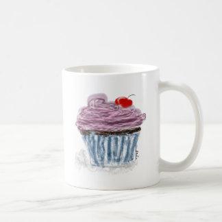 cupcake with cherry coffee mug