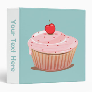 Cupcake with Cherry on Top Binder