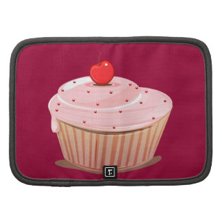 Cupcake with Cherry on Top Folio Planner