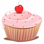 Cupcake with Cherry on Top Photo Sculpture