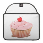 Cupcake with Cherry on Top Sleeves For MacBooks