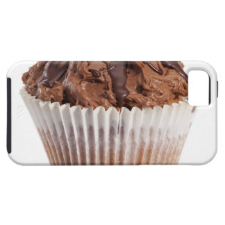 Cupcake with chocolate icing iPhone SE/5/5s case