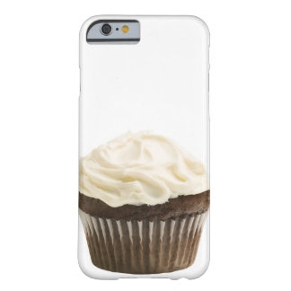Cupcake with chocolate icing, studio shot 2 barely there iPhone 6 case