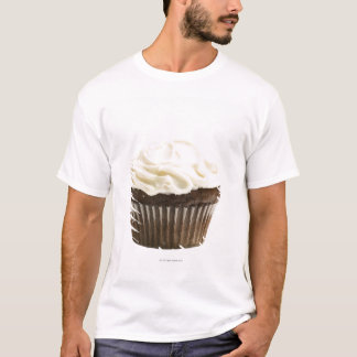 Cupcake with chocolate icing, studio shot 2 T-Shirt