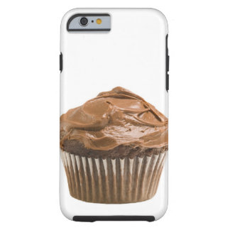 Cupcake with chocolate icing, studio shot tough iPhone 6 case